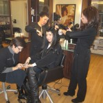 BEAUTY/NEW YORK: ANGELO DAVID SALON—FALL VISIT
