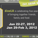 DINING/UPCOMING EVENT: DINE LA