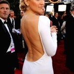 """As she displays her back fat, Kate's expression seems to be saying, """"Take that, Alex."""""""