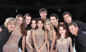 This season's main cast of Stars On Ice