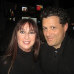 Karen with Isaac Mizrahi.