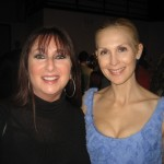 Karen with Gossip Girl mom, Kelly Rutherford, who's as classy as the character she plays.