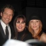 Karen with James Tupper and Anne Heche.  (She thought of cutting Anne out and using this as her Holiday card!)