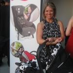 Britax's lovely Kate Clark rocking the safe, and hip!, Britax car seat.